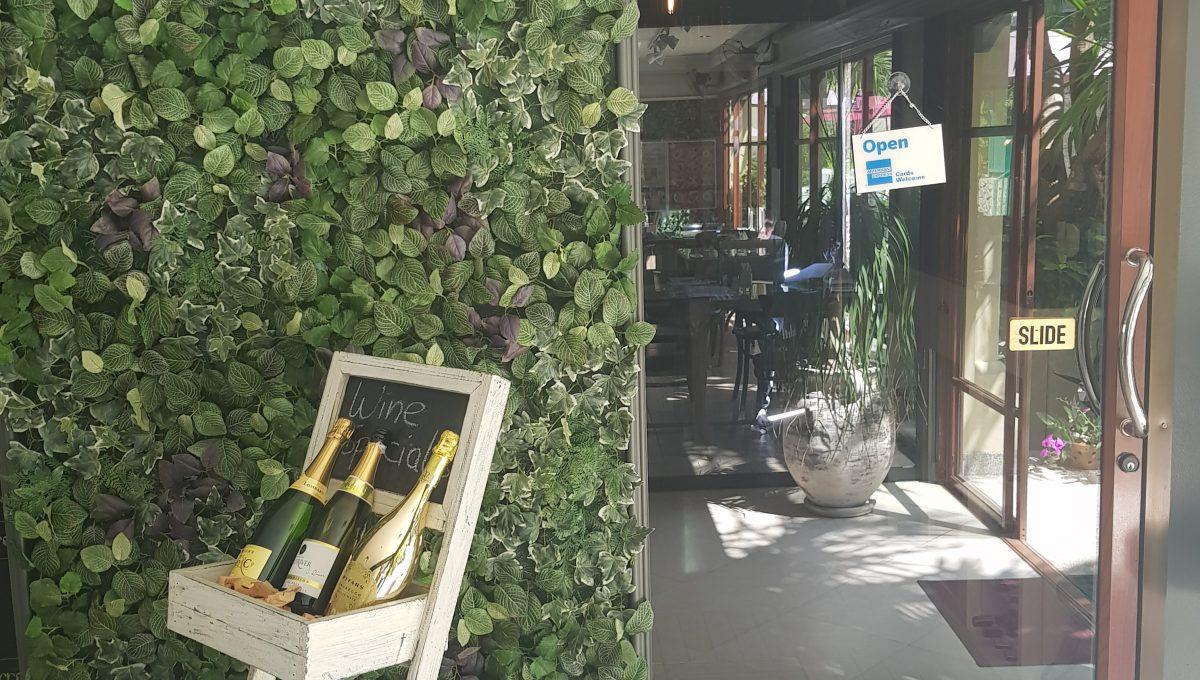 Wine Cellar at Baan Puri