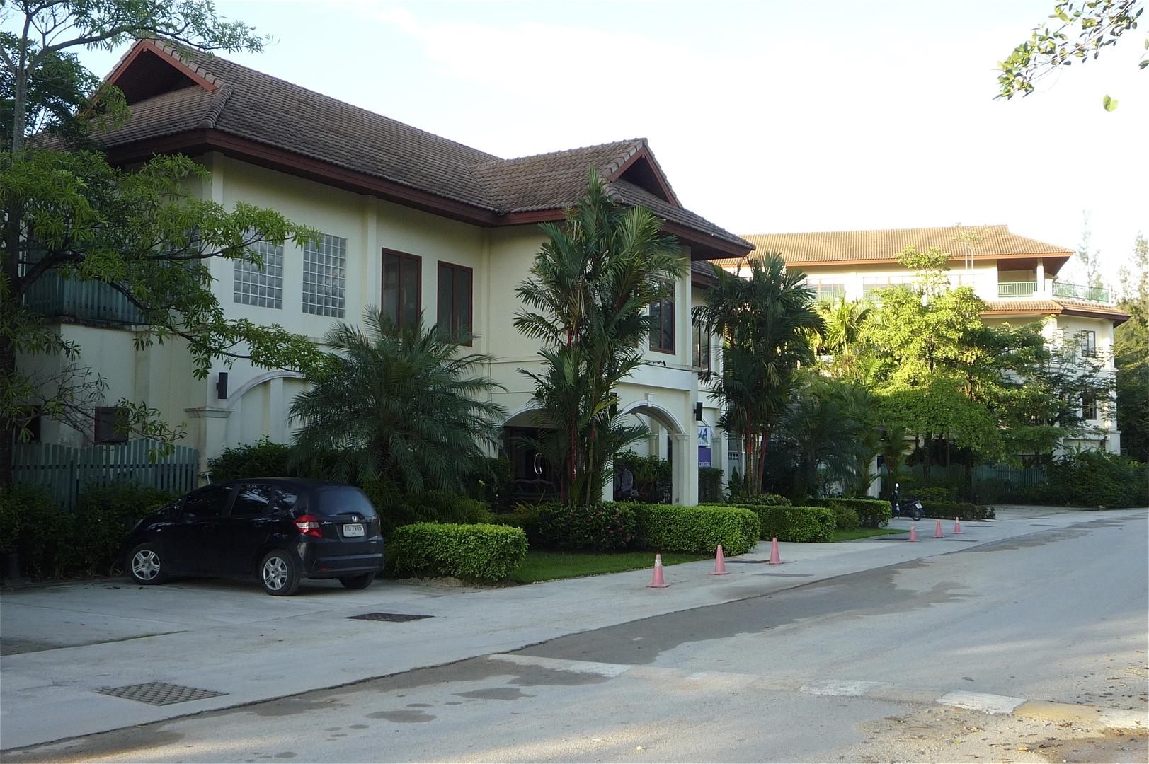 Entrance to estate