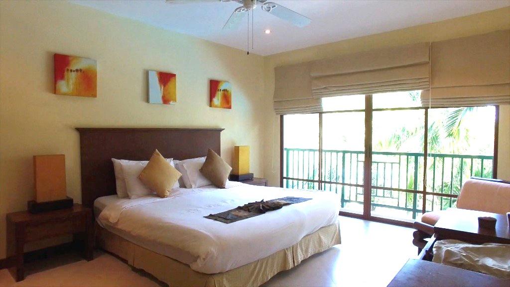 Master Bedroom Overlooking Pool