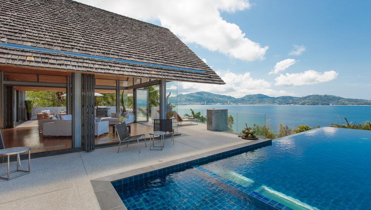 Swimming Pool at villa 15, Samsara private estate, Kamala, Phuket, Thailand